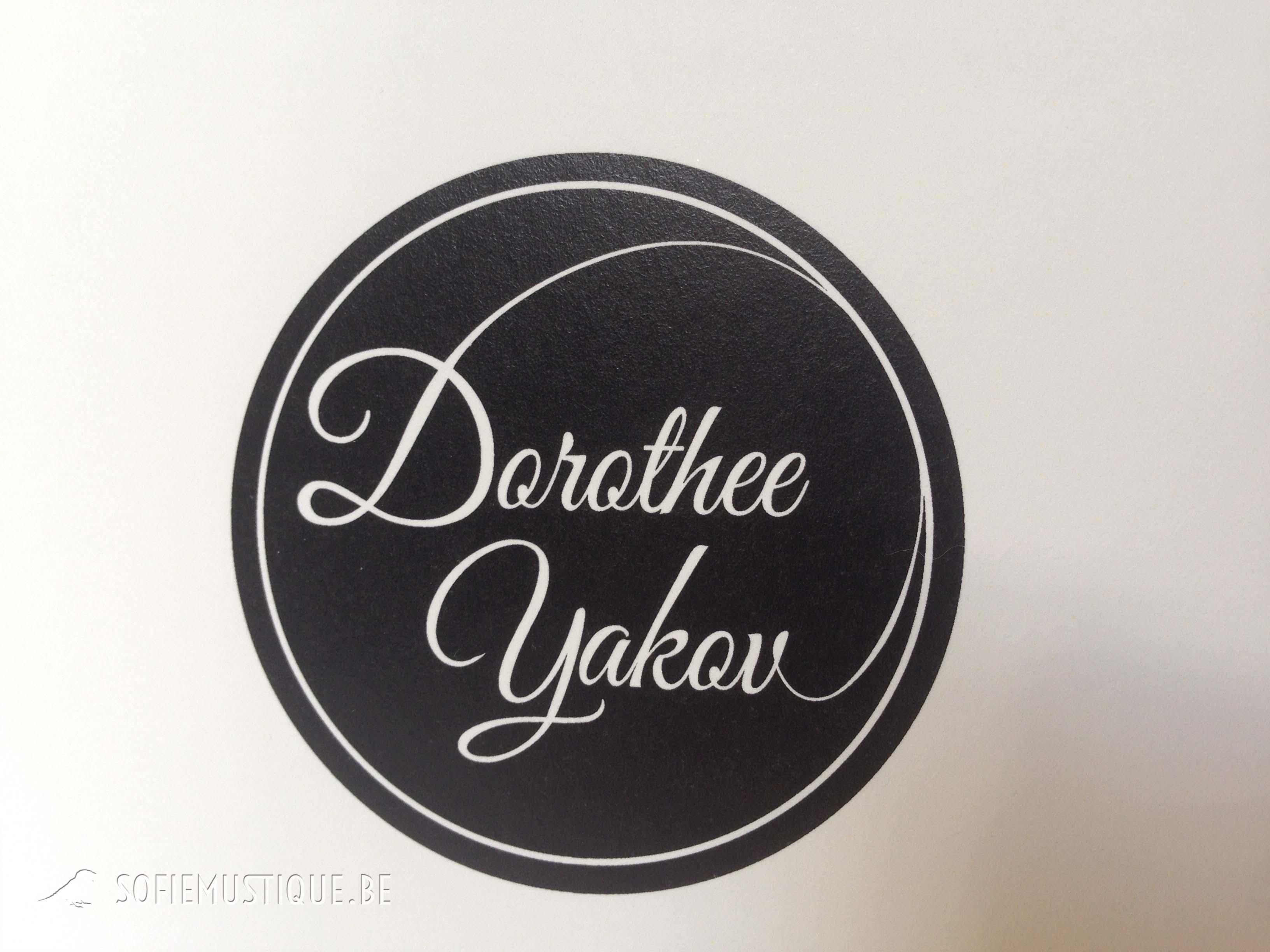 Huwelijksuitnodiging dorothee yakov studio mustique