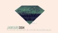 Desktop Calendar January 2014