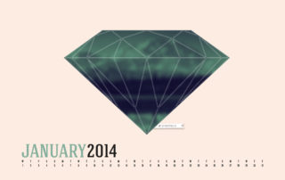Desktop Calendar January 2014