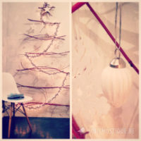 DIY christmas tree with branches
