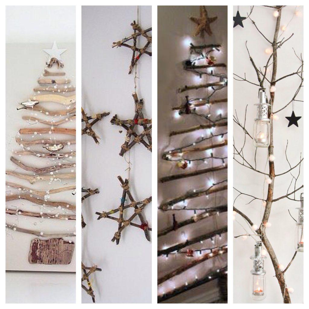 pinterest inspiratie simpele kerstbomen
