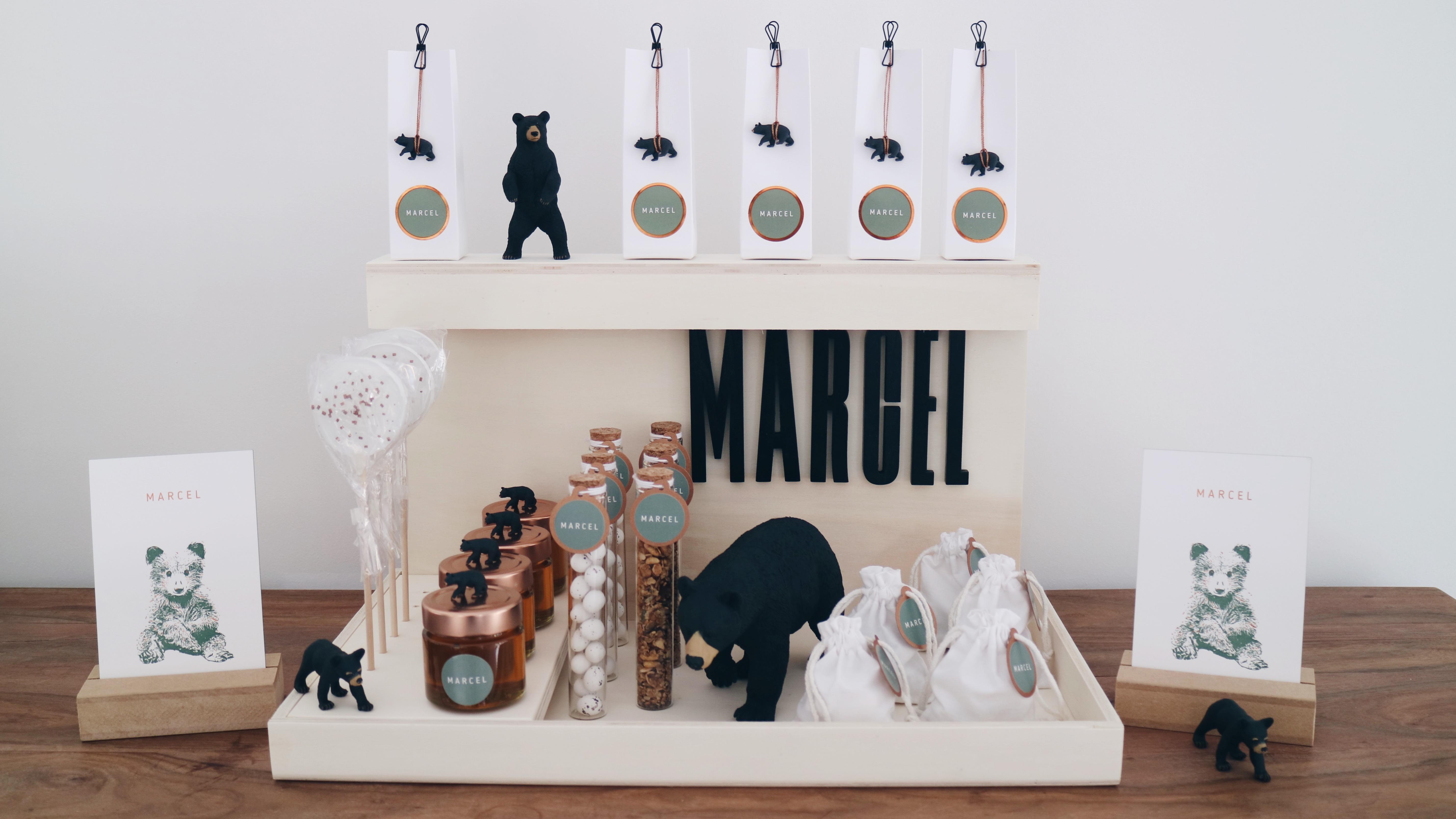 Doopsuiker Marcel Studio Mustique en Studio Blanche