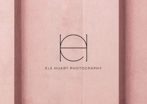 Els Huart photography logo - branding