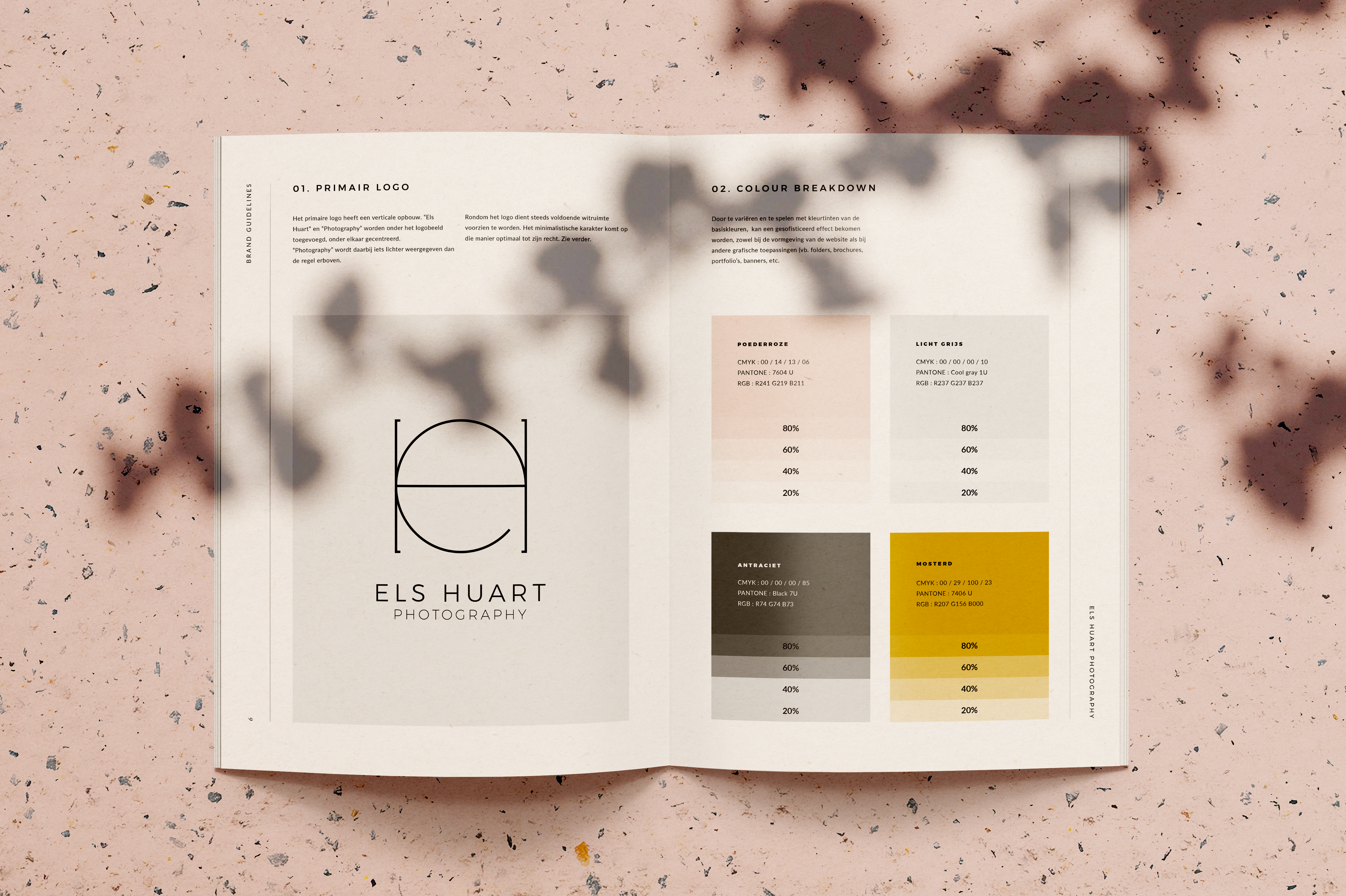 Els Huart - Branding guidelines