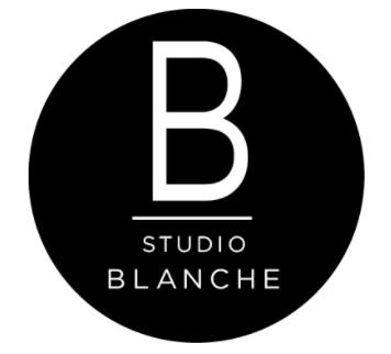 logo studio blanche