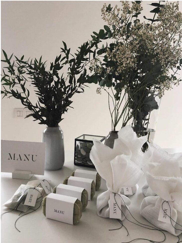 geboortekaartje Manu minimalistisch, studio mustique